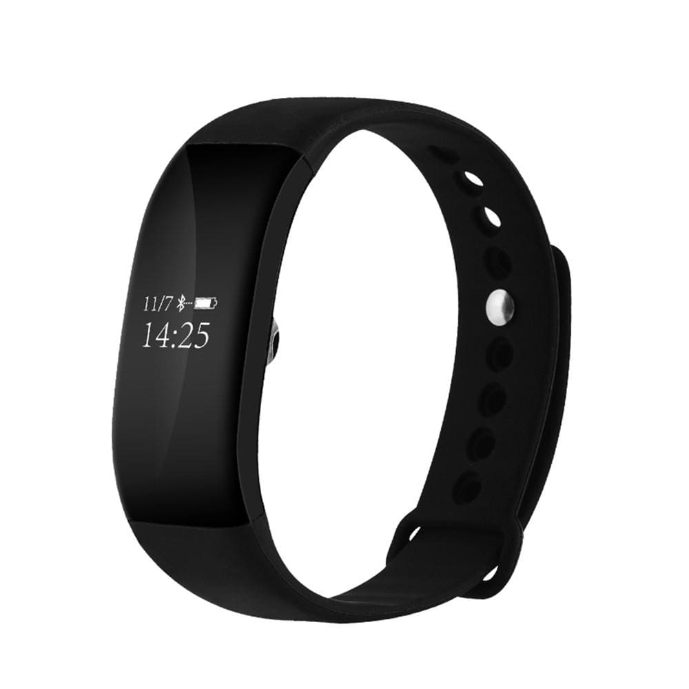 Wireless Fitness Tracker Watch With Heart Rate Monitor Ip67 Waterproof Activity Fitness Band Step Walking Sleep Counter Pedometer - Fitness