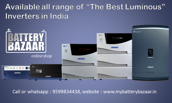 The Best Luminous Inverters in India