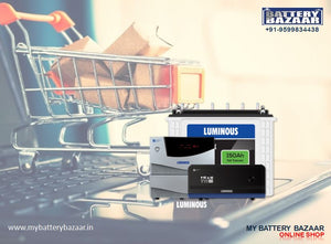 Buy Online Luminous Inverter battery