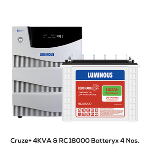 Buy Luminous Cruze 4kva with reviews in delhi