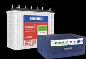 Strength your home with Luminous inverter battery