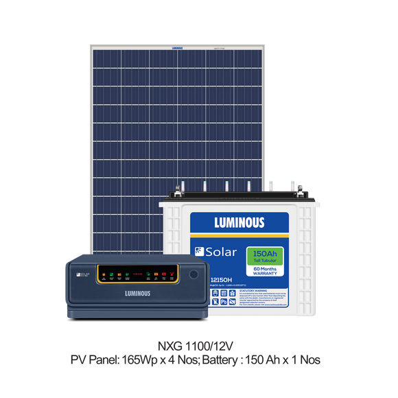 Solar Combo - 850VA Inverter / 150Ah Battery / 300 Watt Panel