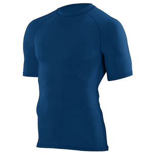 SKYLINE HS BASEBALL – Hyperform Compression Short Sleeve Shirt (Navy)