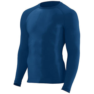 SKYLINE HS BASEBALL – Hyperform Compression Long Sleeve Shirt (Navy)