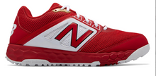 Load image into Gallery viewer, MADISON HS BASEBALL – New Balance Men's Fresh Foam **TURF** Shoes (Red)