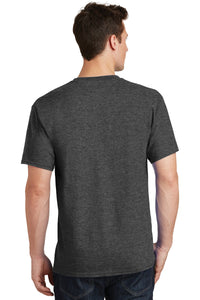 SKYLINE HS TENNIS – Core Cotton Short Sleeve Tee (Dark Heather Grey)