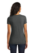 Load image into Gallery viewer, TRHS BASEBALL – Women's Perfect Tri V-Neck Tee (Black Frost)