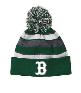 BONNEVILLE – Pompom Hat with B