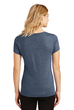 Load image into Gallery viewer, SKYLINE HS BASEBALL – Women's Perfect Tri V-Neck Tee (Navy Frost)