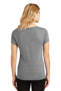IF LAX – Women's Perfect Tri V-Neck Tee (Grey Frost)