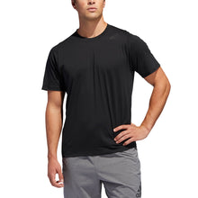 Load image into Gallery viewer, Short Sleeve Adidas Climalite Workout Shirt BLK