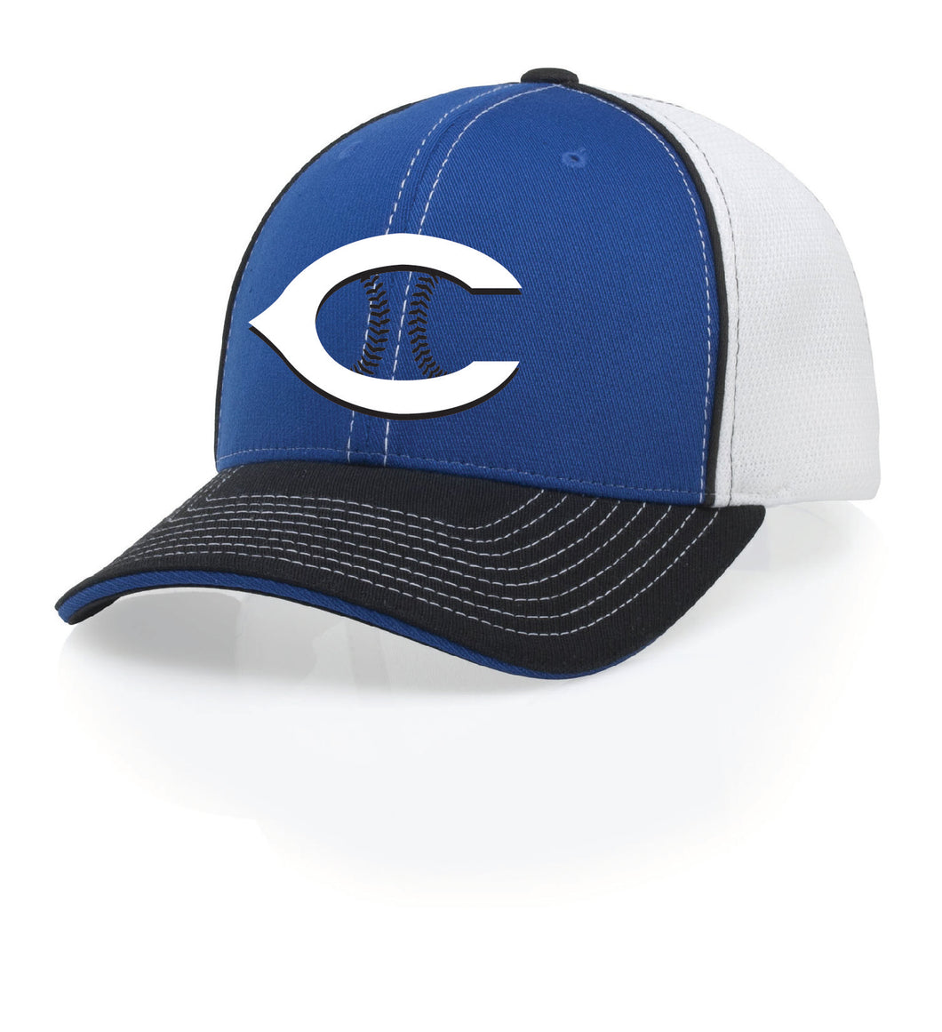 Firth High School Baseball-2019  **MANDATORY** royal/white/black Hat