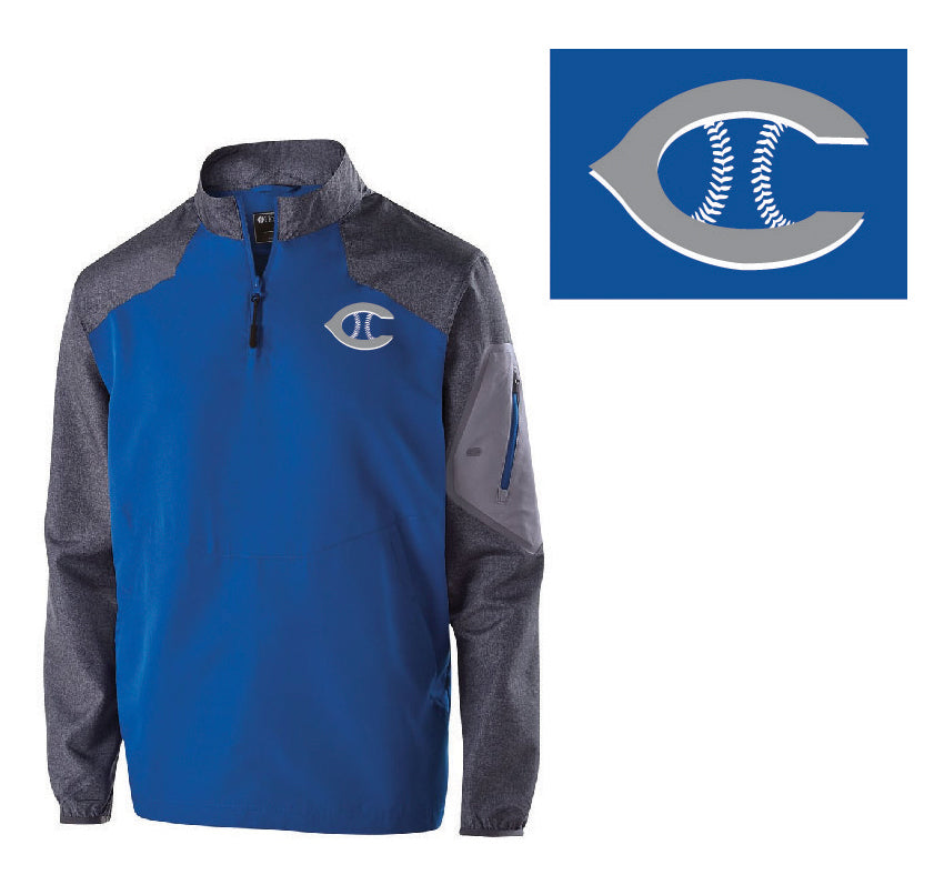 Firth HS Baseball – Jacket Pullover with Sleeve Pocket
