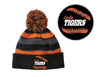 223835  Holloway Comeback Beanie (Orange/Black)