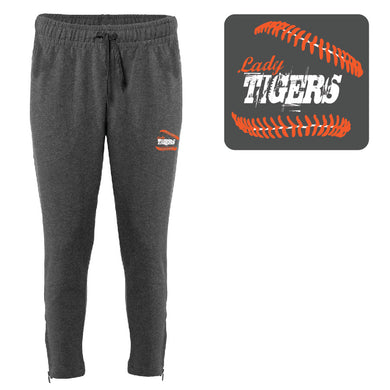 1071-BADGER LADIES ANKLE PANT (Charcoal)