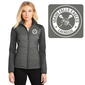 IF LAX – LADIES Hybrid Soft Shell Jacket (Smoke Grey / Grey Steel)