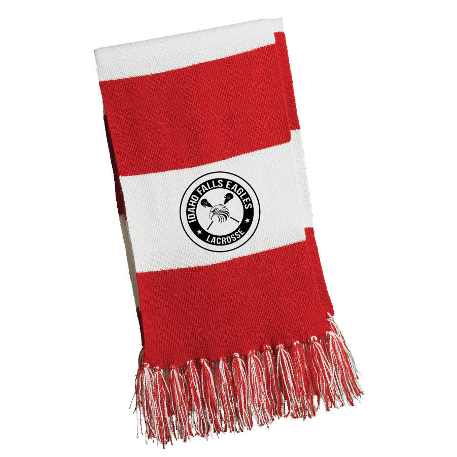 IF LAX – Spectator Scarf (Red/White)