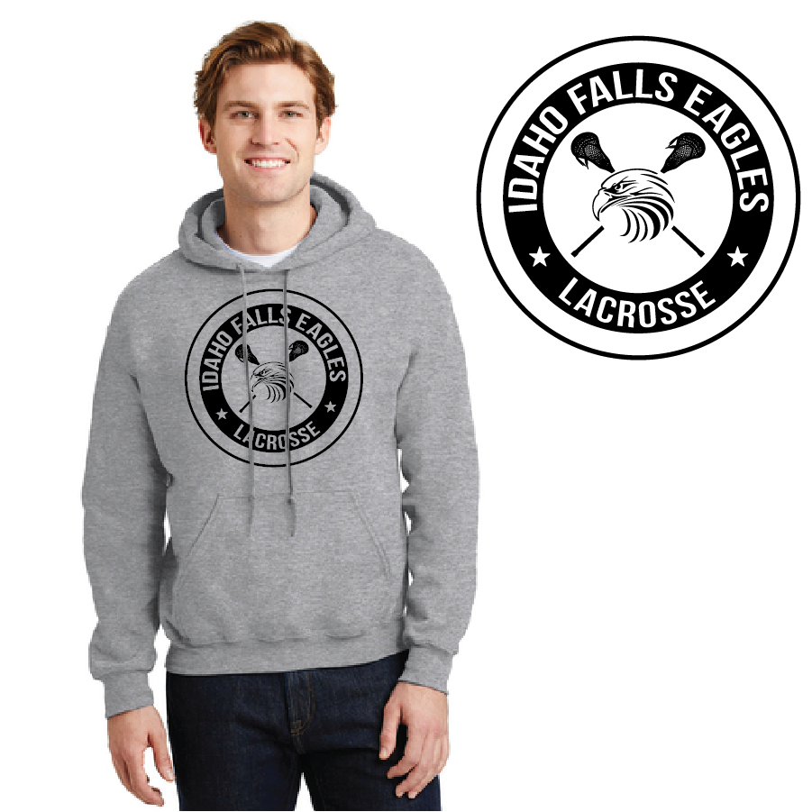 IF LAX – Heavy Blend Hooded Sweatshirt (Sport Grey)