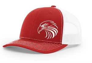 IF LAX – Richardson Classic Trucker Cap (Red/White)