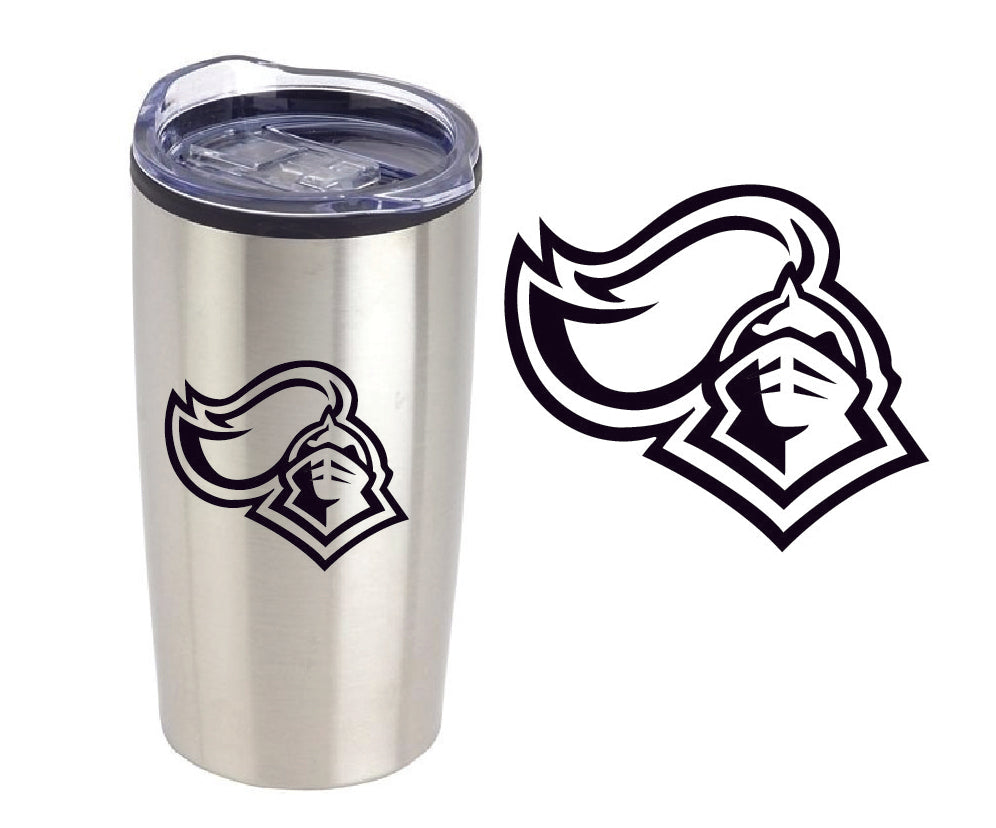 KNIGHTS 20 oz. Stainless Steel/PP Tumbler