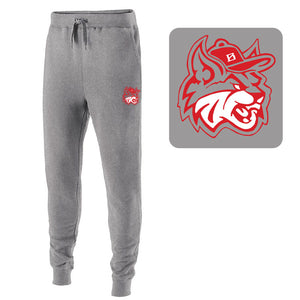 MadCats Baseball – Augusta 60/40 Fleece Jogger (Charcoal Heather)