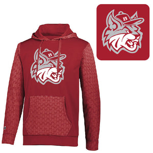 MadCats Baseball – Dry-Excel Wicking Range Hoodie (Scarlet Red)