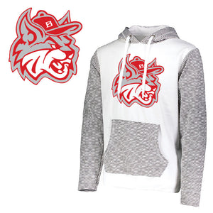 MadCats Baseball – Dry-Excel Wicking Range Hoodie (White)