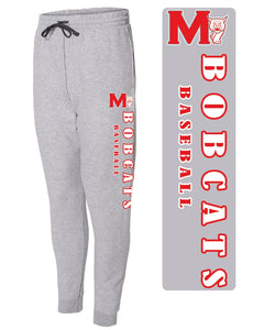 MADISON HS BASEBALL – 60/40 Fleece Jogger Pant (Athletic Heather)
