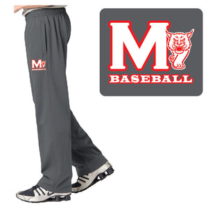 MADISON HS BASEBALL – Moisture-Wicking Fleece Pant (Smoke Grey)