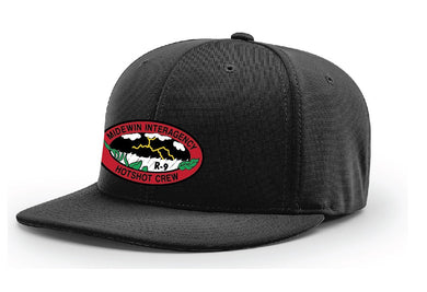Midewin Hotshots – Pulse R-Flex Hat (Black)