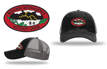 Load image into Gallery viewer, Midewin Hotshots – Richardson Snapback Trucker Cap (black/grey)