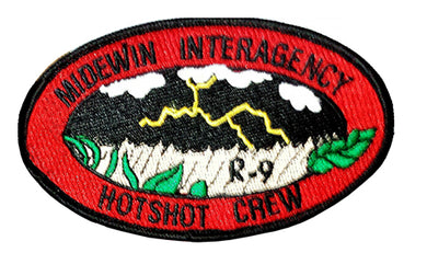 Midewin Hotshots – Full Color Logo Patch