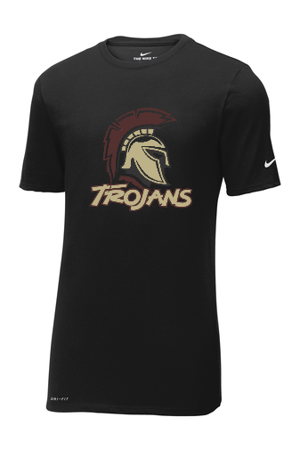 Trojan Nike Dri-FIT Cotton/Poly Tee