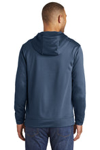 Load image into Gallery viewer, GRIZZ GRID KID – Performance Fleece Pullover Hooded Sweatshirt (Deep Navy)