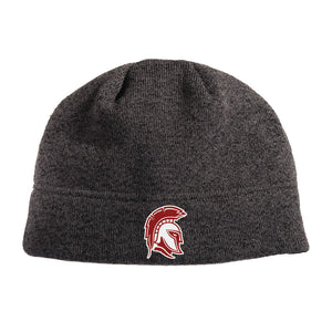 RIGBY HS BASEBALL – Heathered Knit Beanie (Black Heather)