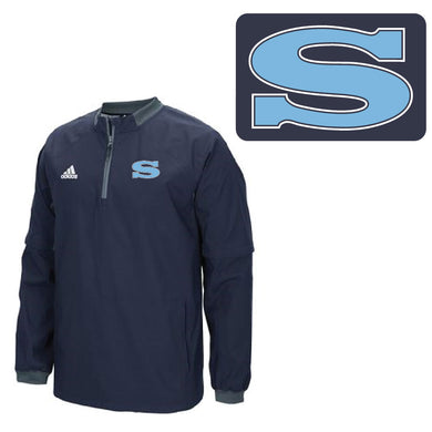 SKYLINE HS BASEBALL – Adidas Men's Collegiate Fielder's Choice 1/4 Zip (Navy/Onix)