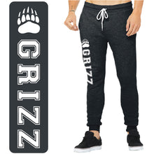 Load image into Gallery viewer, SKYLINE HS TENNIS – Unisex Jogger Sweatpants (Dark Grey Heather)