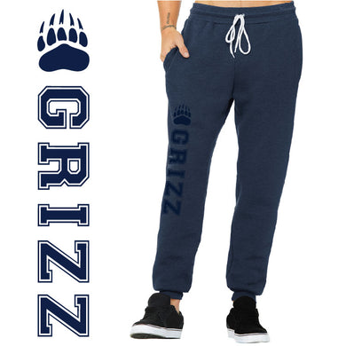 SKYLINE HS TENNIS – Unisex Jogger Sweatpants (Heather Navy)