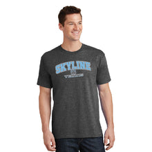 Load image into Gallery viewer, SKYLINE HS TENNIS – Core Cotton Short Sleeve Tee (Dark Heather Grey)