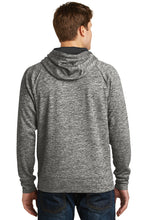 Load image into Gallery viewer, IF LAX – Moisture-wicking Electric Fleece Hooded Pullover (Black Electric)