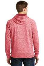 Load image into Gallery viewer, IF LAX – Moisture-wicking Electric Fleece Hooded Pullover (Deep Red)