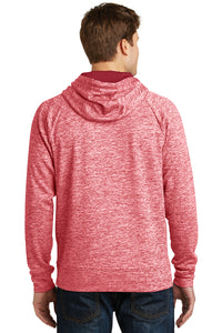 IF LAX – Moisture-wicking Electric Fleece Hooded Pullover (Deep Red)