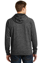 Load image into Gallery viewer, IF LAX – Moisture-wicking Electric Fleece Hooded Pullover (Grey-Black)