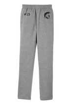 Load image into Gallery viewer, (LATER) RIGBY HS FOOTBALL – Trojan Sport-Tek Open Bottom Sweatpant