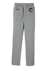 (LATER) RIGBY HS FOOTBALL – Trojan Sport-Tek Open Bottom Sweatpant