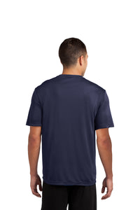 GRIZZ GRID KID – Moisture-Wicking Competitor Tee (True Navy)