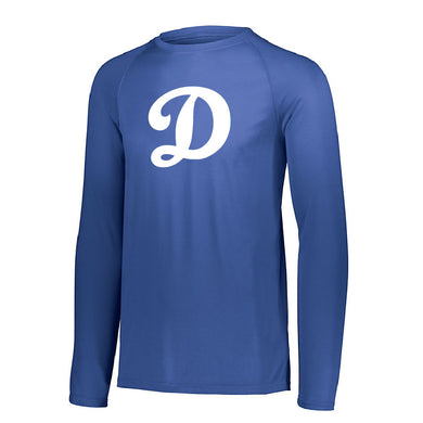 SUGAR-SALEM HS BASEBALL – Attain Wicking Long Sleeve Shirt (Royal)