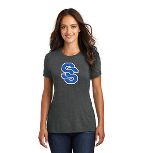 SUGAR-SALEM HS BASEBALL – Women's Perfect Tri Tee (Black Frost)