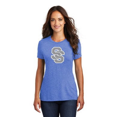 SUGAR-SALEM HS – Women's Perfect Tri Tee (Royal Frost)