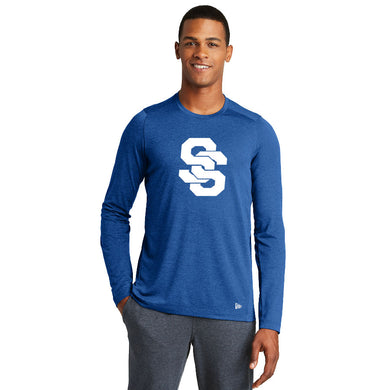 SUGAR-SALEM HS BASEBALL – Moisture-Wicking Long Sleeve Tee (Royal)